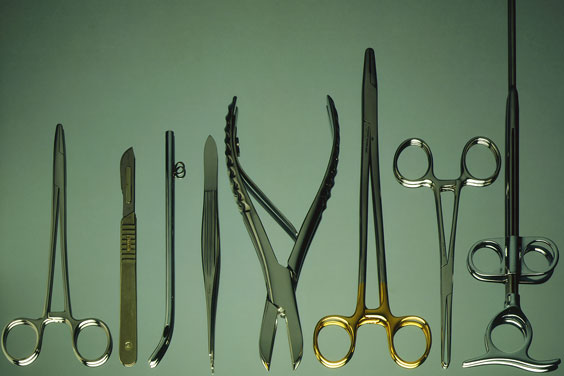surgical instruments for dental surgery